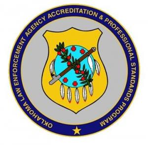 Oklahoma Law Enforcement Agency Accreditation & Profesional Standards Program Logo