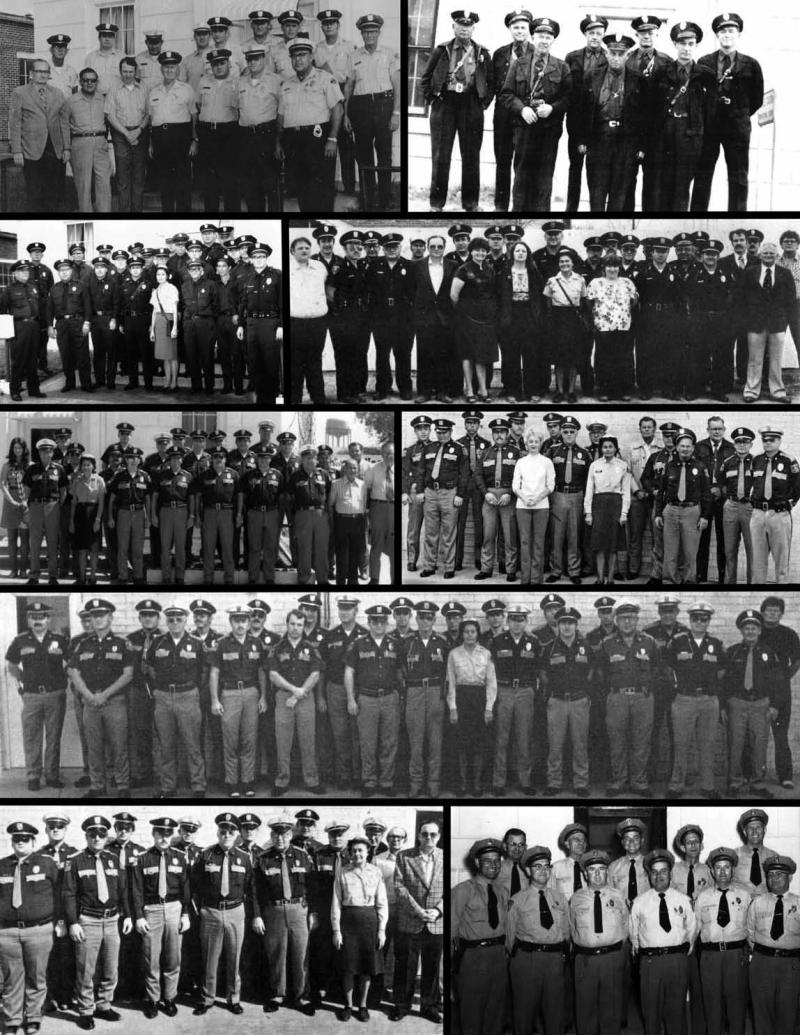 Nine Pictures of Police Officers Through the Century